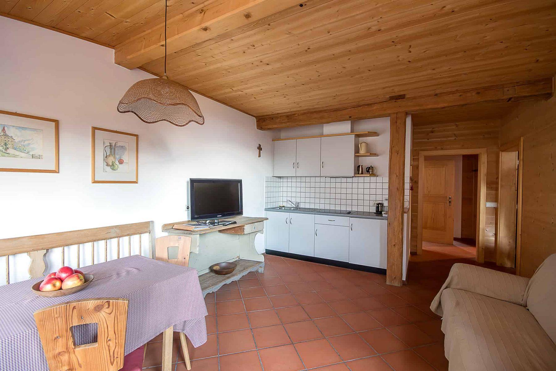 Tannenwohnung Wohnküche