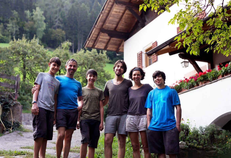 Familie Gruber, Mayrhof, Urlaub auf dem Bauernhof, St. Pankraz, Ultental